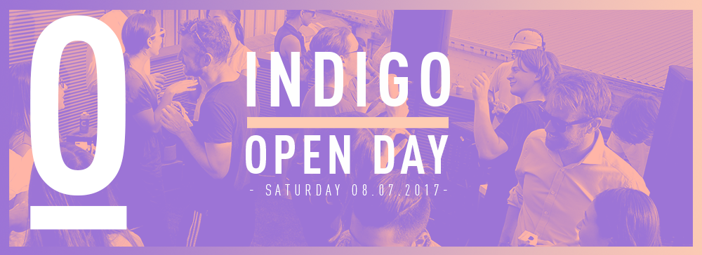 INDIGO OPEN DAY </BR> SPECIAL EVENT : JULY 8