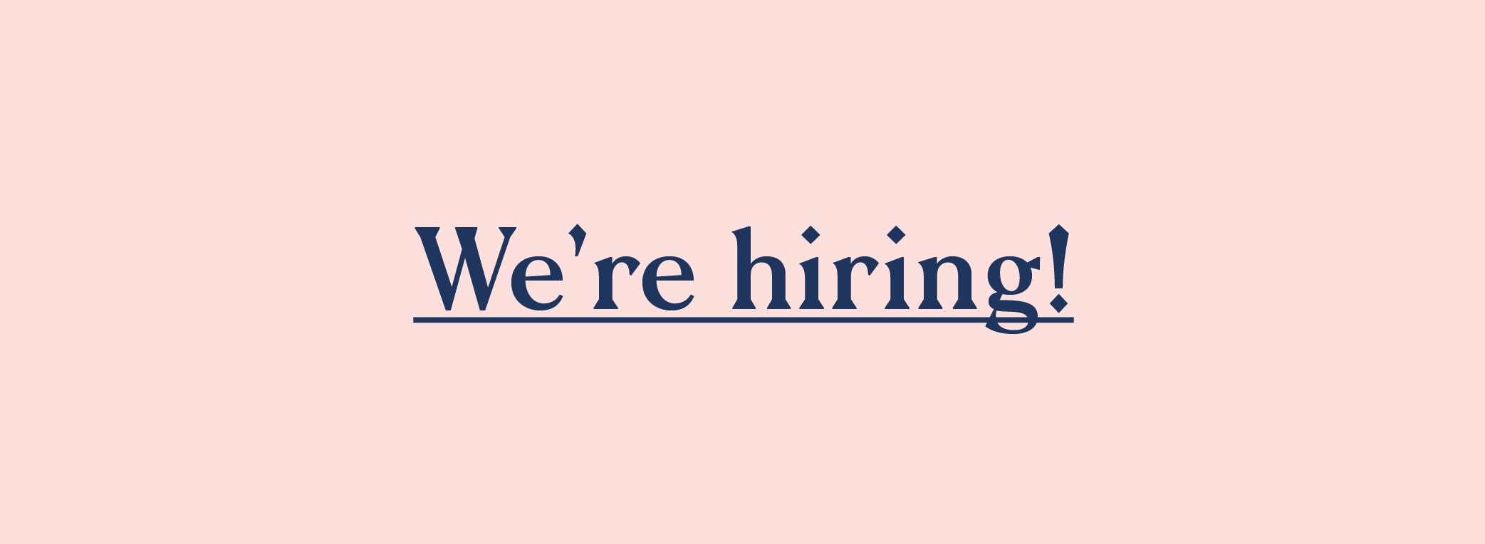 Job Banners_We're Hiring
