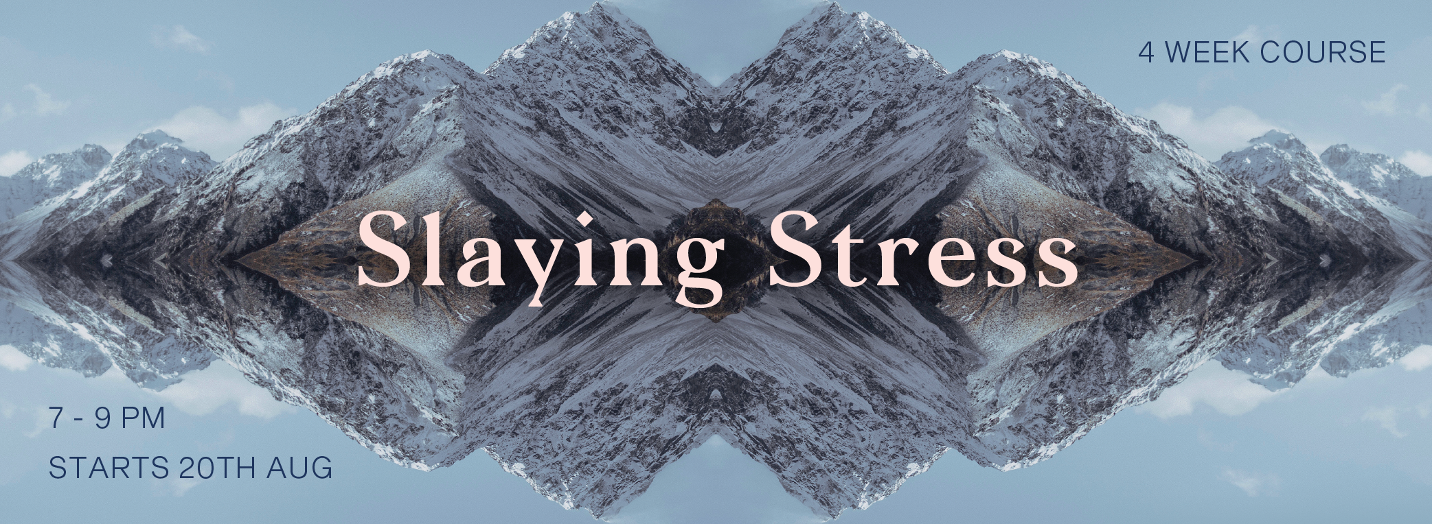 SLAYING STRESS_Web Header
